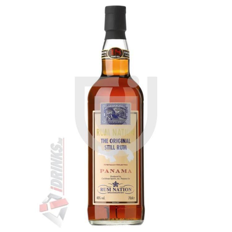 Idrinks Rum Nation Panama 18 Years Rum