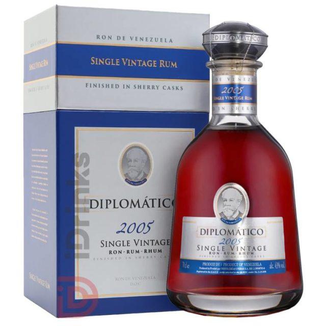 Idrinks Diplomatico Single Vinatge 2005 Rum